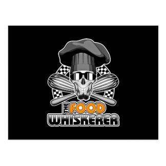 Humor del cocinero: Comida Whiskerer v3 Postal