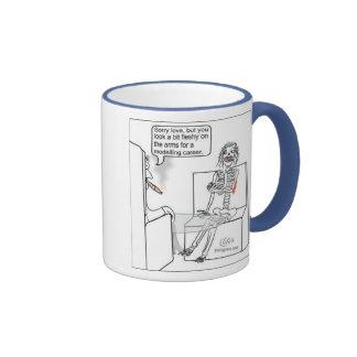 Humor del empleo taza