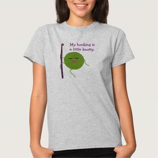 Humor del ganchillo camiseta