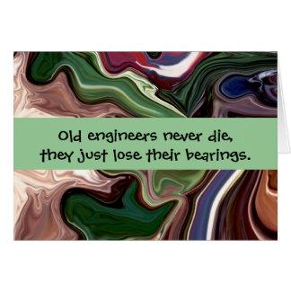 humor del ingeniero tarjeta de felicitación