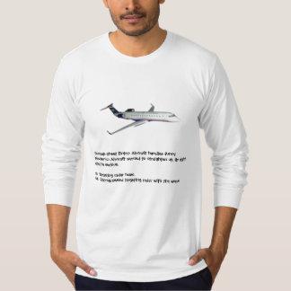 Humor del mecánico de aviones camiseta