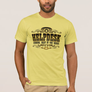 Humor del soporte técnico camiseta