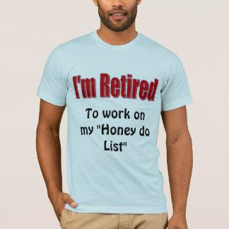 Humor jubilado camiseta