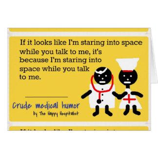 Humor médico tarjeton