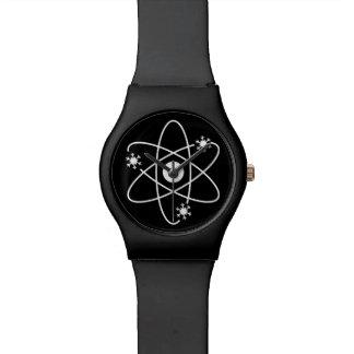 Humor nuclear del invierno reloj de pulsera