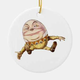 Humpty Dumpty de Alicia en el país de las maravill Adorno De Reyes