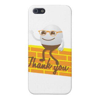 Humpty Dumpty le agradece iPhone 5 Carcasas