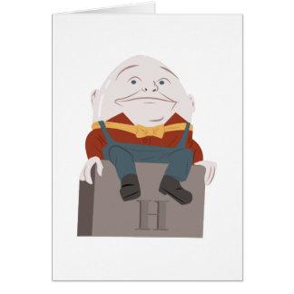 Humpty Dumpty Tarjeta
