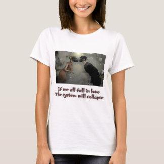 Hundimiento sistemático del amor camiseta