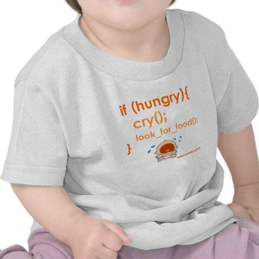 Hungry Baby Camiseta