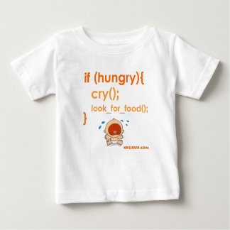 Hungry Baby Camiseta