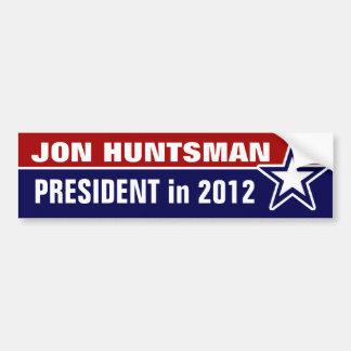 Huntsman de Jon en 2012 Pegatina Para Coche