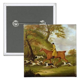 Huntsman y perros, 1809 (aceite en lona) pins