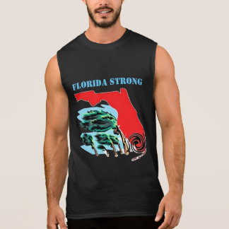 Huracán Irma la Florida fuerte Camiseta Sin Mangas