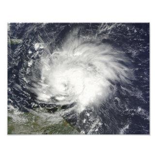 Huracán Tomas sobre las pocas Antillas Fotografía
