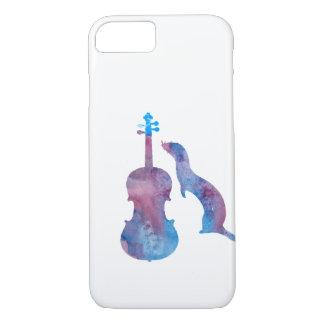 Hurón y saxofón funda iPhone 7