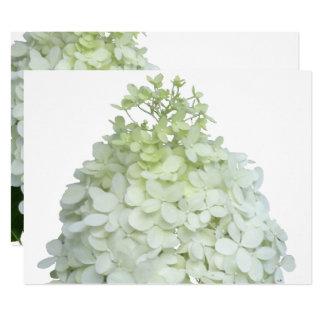 Hydrangea de la luz de calcio nupcial/ducha del invitación 16,5 x 22,2 cm