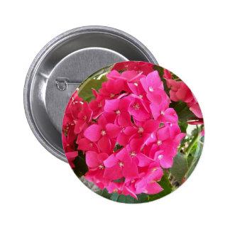 Hydrangea rosado pin