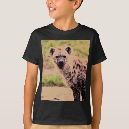 hyena camiseta