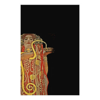 Hygeia de la medicina folleto 14 x 21,6 cm
