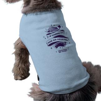 I <3 alguien que tenía una camisa del perro del camiseta sin mangas para perro