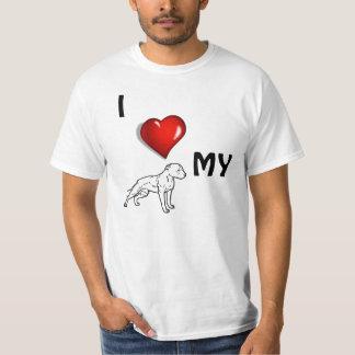I <3 mi Pitbull Camisas