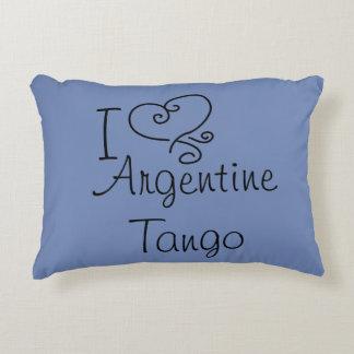 I almohada del tango de Argentina del corazón