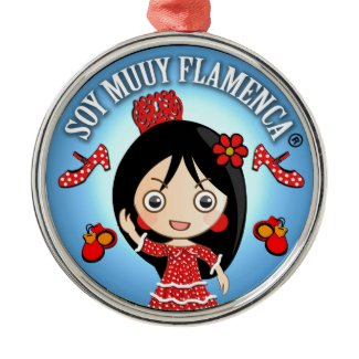 Flamenca Traje Gitana Rojo