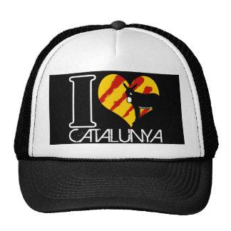 I Amor Catalunya Gorros Bordados