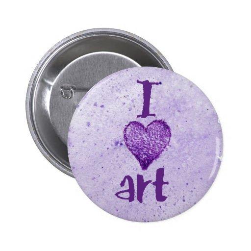 I arte del corazón pin