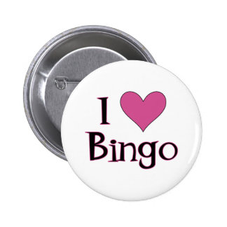 I bingo del corazón chapa redonda 5 cm