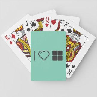 I cajas del corazón cuatro baraja de cartas