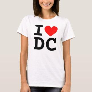 I camisa de DC del corazón