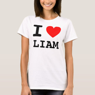I camisa de Liam del corazón