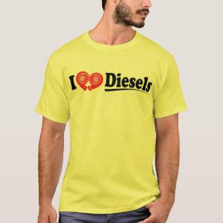 I camisa de los dieseles del corazón