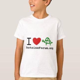 I camiseta de los niños de las tortugas del