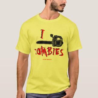 I camiseta de los zombis de la motosierra