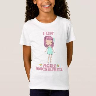 I camiseta de Snickelfritz de la salmuera de Luv