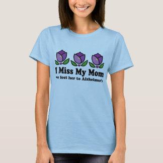 I camiseta de Srta. My Mom Women's Alzheimer