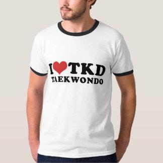 I camiseta del campanero del Taekwondo del corazón