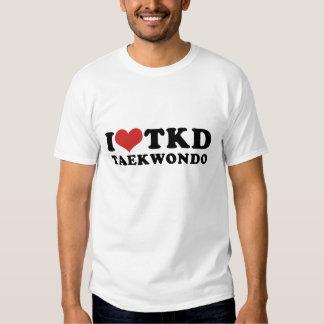 I camiseta del Taekwondo del corazón