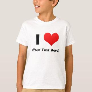 I camisetas personalizadas corazón