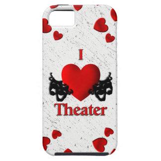 I caso del iPhone 5 del teatro del corazón Funda Para iPhone SE/5/5s