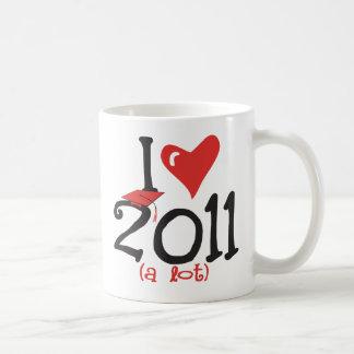 I clase mayor del corazón 2011 (mucho) - de la taza de café