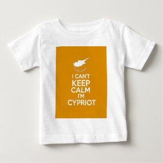 I Cnt guarda al chipriota de la calma Im Camiseta De Bebé