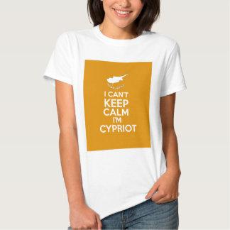 I Cnt guarda al chipriota de la calma Im Camisetas
