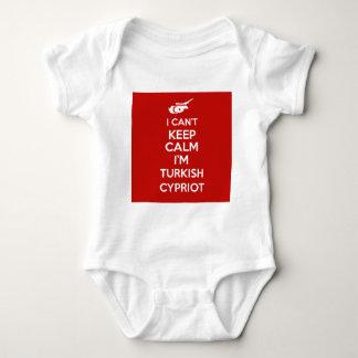 I Cnt guarda al chipriota turco de la calma Im Body Para Bebé