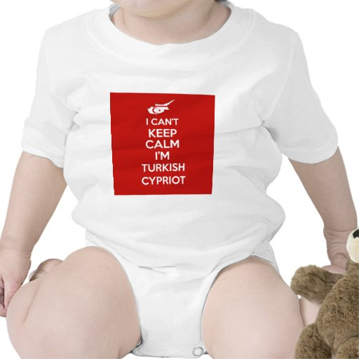 I Cnt guarda al chipriota turco de la calma Im Trajes De Bebé