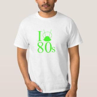 I corazón 80s camiseta