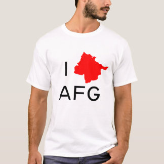 I CORAZÓN Afganistán Camiseta